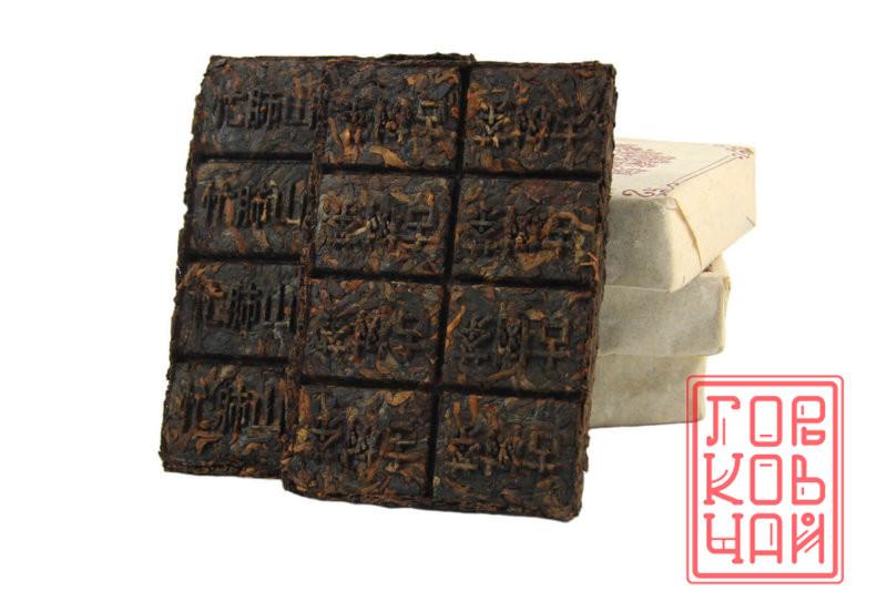 """Гуюаньчунь """"Манфей"""", 2010 г., плитка 100гр. 1"""
