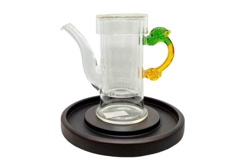 Чайная колба стекло с длинным носиком
