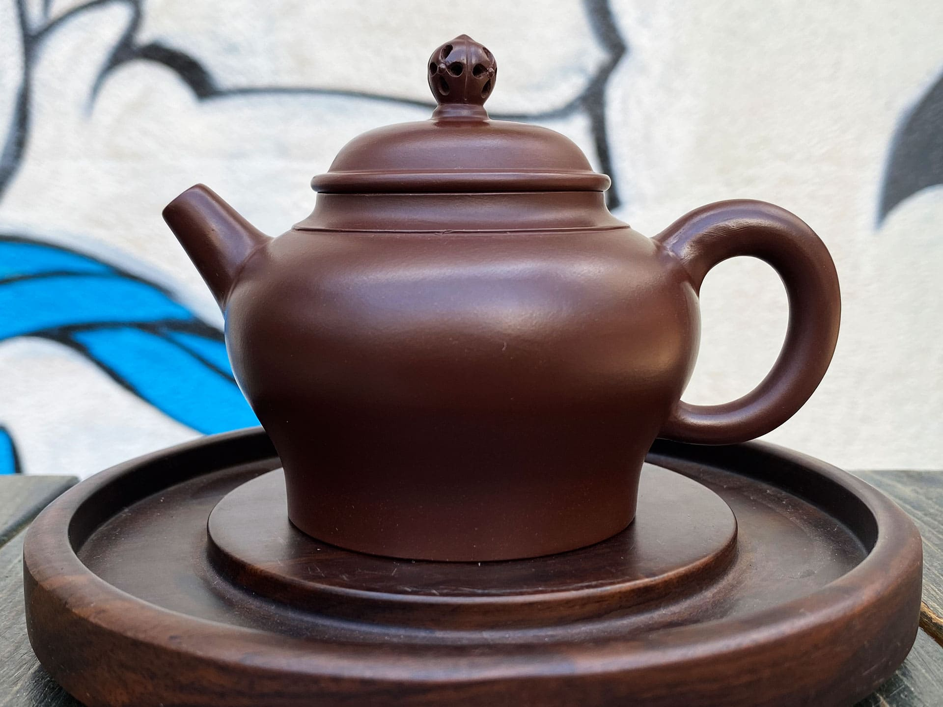 Чайник дворцовый фонарь (темный)