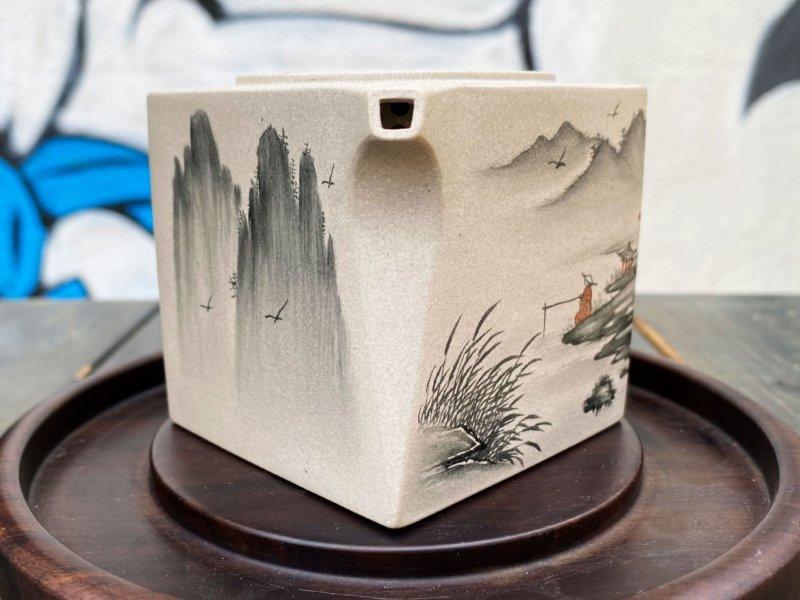 Чайник квадрат